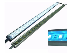 S00682 Serie RIGID STRIP HUANG (WW; 2800-3500K; 12 VDC; 14,4W/metro; CONECTOR; 120º; 60/metro; SMD; 0,24W/led; 1000 x 16 x 10mm ; IP68 )
