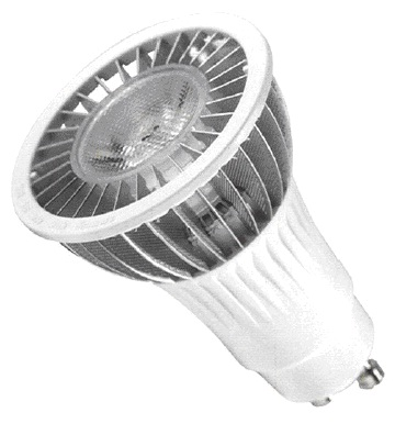 P00104-W Serie SPOT LIGHT (WW ; 3000K; 220 VAC; 6W; GU10; 30º; 1; CREE; 5W; Diam. 50 x 74,76mm; 180 lm )