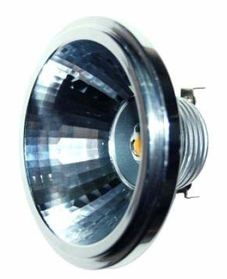B00559 Serie SPOT LIGHT AR111 (WW ; 3000K; 12 VAC/DC; 7W; G53; 25º; 1; Sharp Zenigata; 6,7W; Diam. 110,4 x 73,5mm; 300 lm )