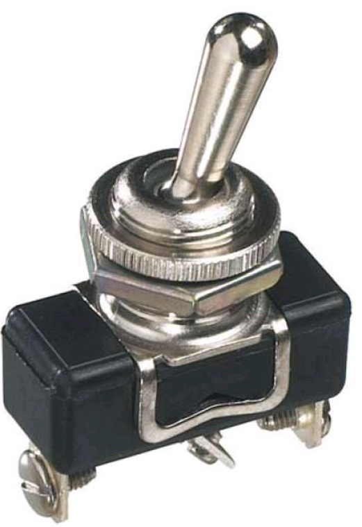 Industrial toggle switches - metal lever - economy range
