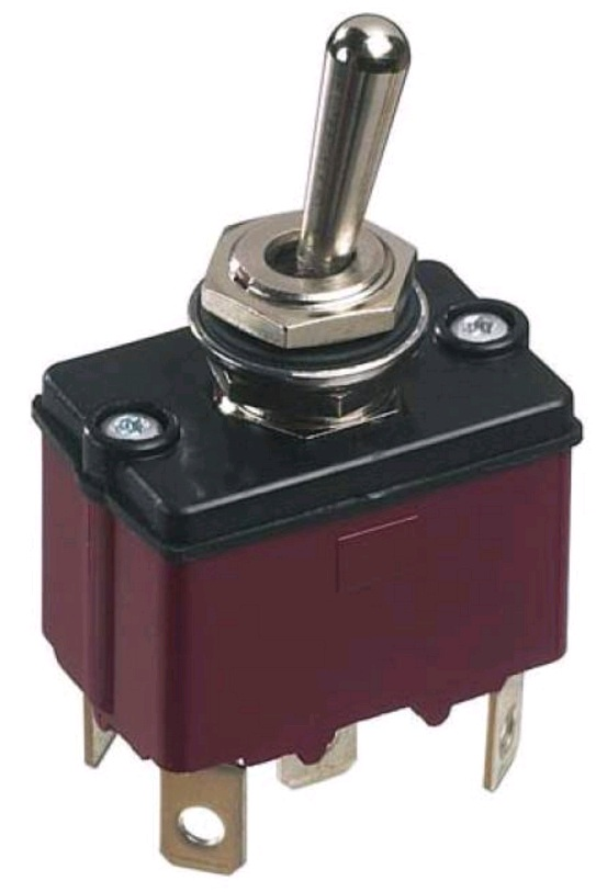 3600NF-Series-APEM; 3600 Series sealed toggle switch for outdoor applications