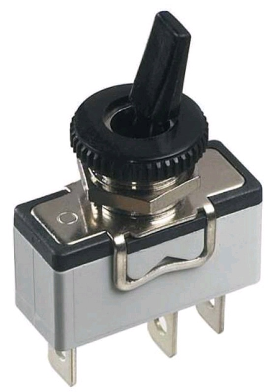 Industrial toggle switches - high amperage - insulated lever