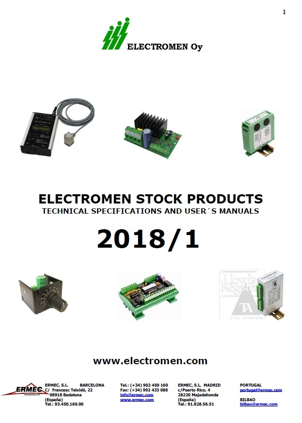 ELECTROMEN-CATALOGUE