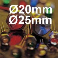 Ø20mm Ø25mm