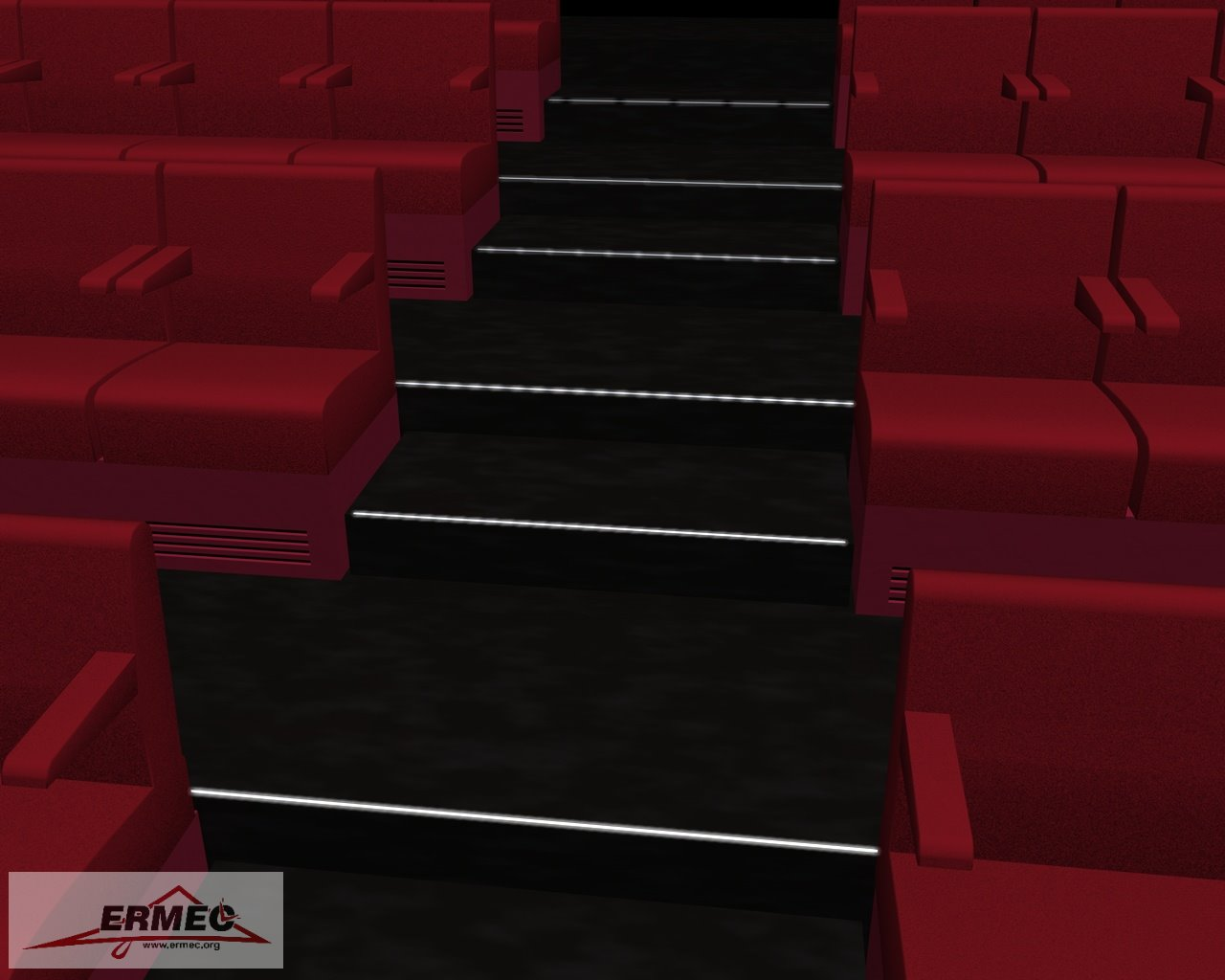 Realizaci n de proyectos de iluminaci n led de escaleras - Iluminacion de escaleras ...
