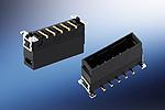 Maxibridge, Vertical Male, Conectores de una fila (SRC), rojo (2 pins, SMT, Bandeja/320pcs)