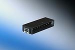 Maxibridge, Macho 90º , Conectores de uma fila (SRC) , preto  (5 pins, SMT, Tape and reel/440 pcs)