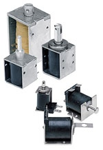 Dormeyer    Series:Size B14M - DC Operation  Solenoides de carcasa de caja (Box Frame) (25,9x20,1x25,1mm, 24 VDC)