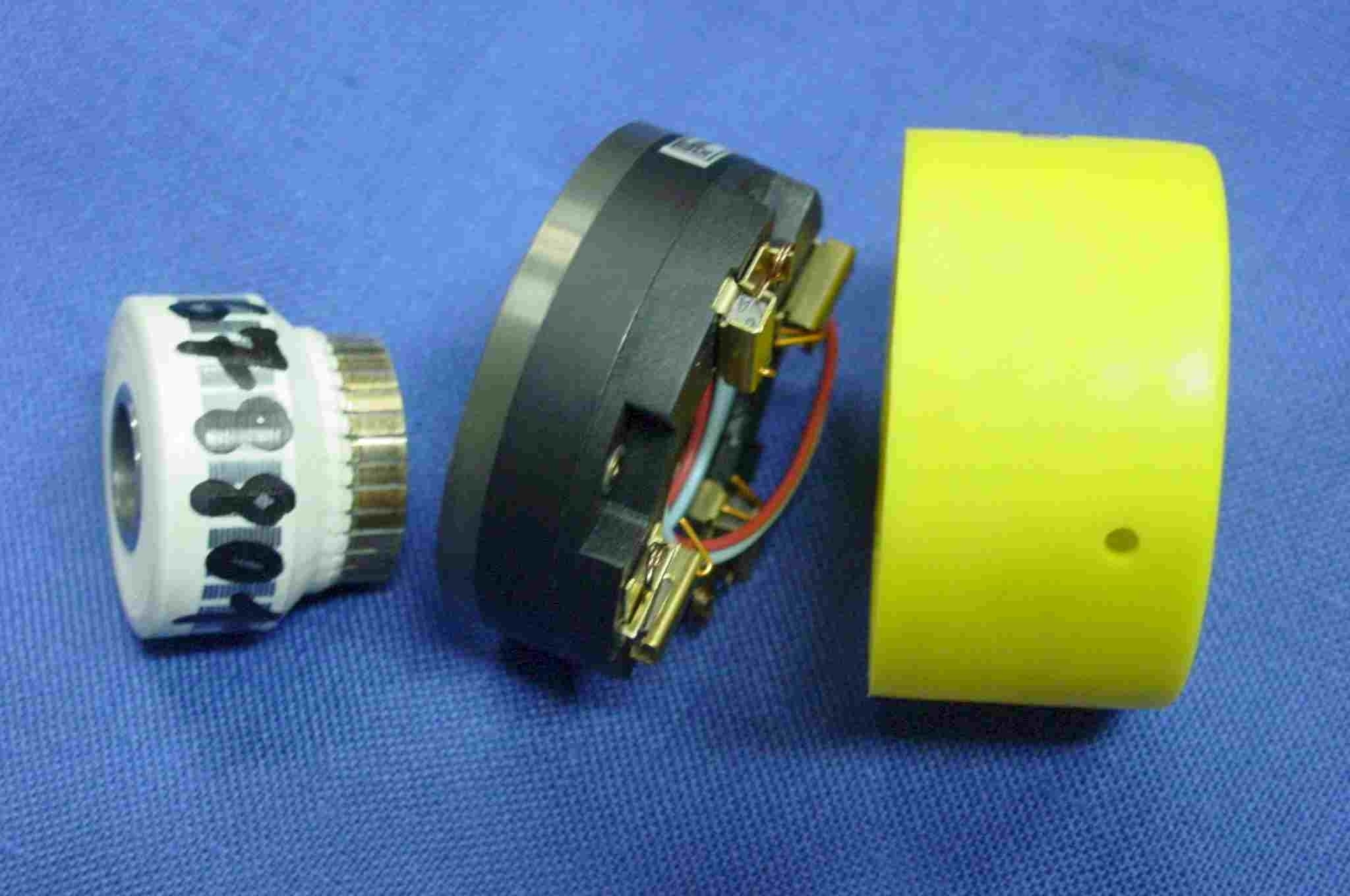 Dinamo tacométrica Eje hueco (10V, 12.7mm)