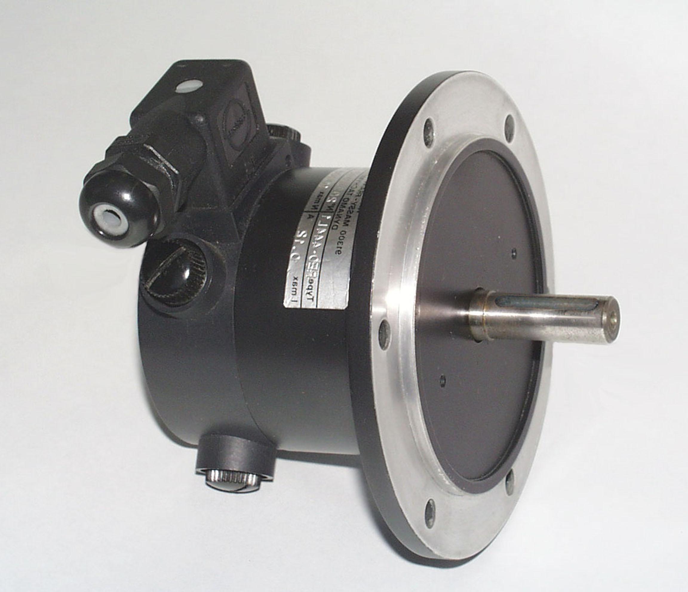 Dinamo tacométrica Eje saliente (60V, 11mm, Brida)